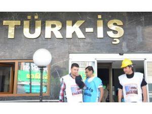 Türk-İş Temsilcisi Girgin: Yatağan'da iptal kararı çıkana kadar buradayız
