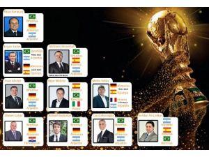 Türkiye'de spor yazarlarının FIFA 2014'teki favorisi Brezilya