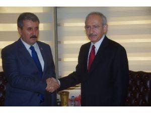 Kılıçdaroğlu: Büyük uzlaşmayı sağlamak için BBP'yi ziyaret ettik