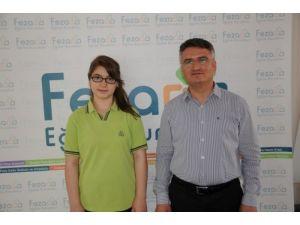 TEOG Türkiye Şampiyonu Feza Berk Koleji'nden