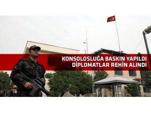 IŞİD Türk Konsolosluğu'nu işgal etti, 42 kişiyi rehin aldı