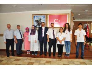 Fatih'in fatihleri Başkan Alıcık'ı ziyaret etti