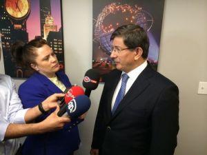 Davutoğlu: Böylesine hassas bir konvoyu çıkarmak risk ifade ediyordu