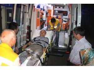 Alaplı'da trafik kazası: 2'si ağır 4 yaralı