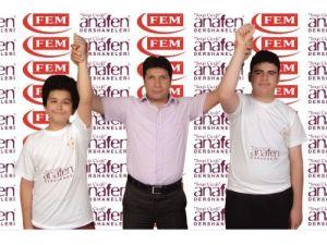 Hatay Anafen TEOG'da 5 Türkiye birincisi çıkardı