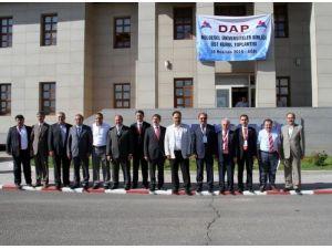DAP, Bölgesel Üniversiteler Birliği Üst Kurul toplantısına ev sahipliği yaptı