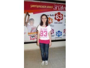 Dörtyol Anafen bu yıl da TEOG sınavında Türkiye birincisi çıkardı