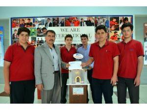 Kılıçaslanlı öğrenciler Soma için 3 bin 300 lira topladı