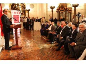 Duayla açılan eyalet kongresinde Soma için başsağlığı kararı alındı