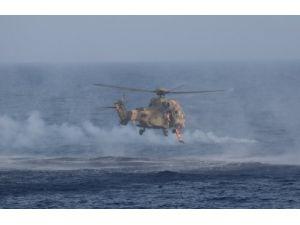 Caner Gönyeli Tatbikatı'nın deniz safhası başarıyla icra edildi