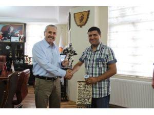 Polislerden Başkan Toksoy'a teşekkür ziyareti
