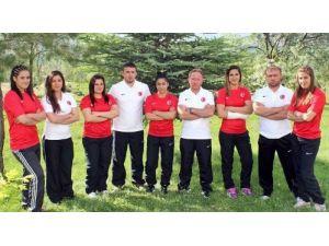 Minderin genç kızları Avrupa şampiyonasına hazırlanıyor