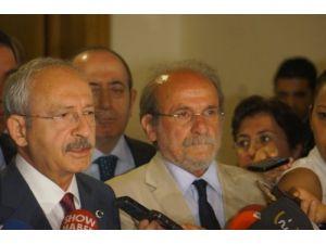Kılıçdaroğlu: Davutoğlu ile görüştükten sonra değerlendirmelerde bulunacağım