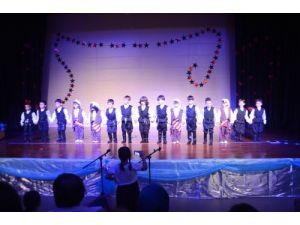 Zonguldak Fatihli anaokulu öğrencilerinden mezuniyet coşkusu
