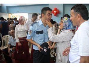 Polis Meslek Yüksekokulu'nda mezuniyet heyecanı yaşandı