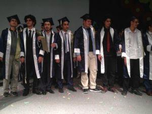 Elazığ Yavuz Selim Koleji'nde mezuniyet coşkusu