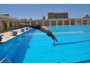 Olimpik yüzme havuzu haftada altı gün hizmet verecek