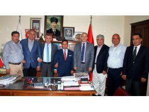 ATB yönetiminden Bilal Uludağ'a ziyaret