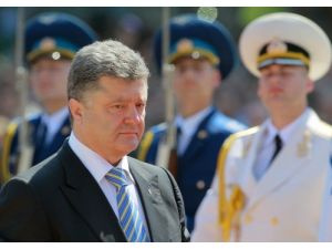 Poroşenko çözüm planını Putin'le görüştü
