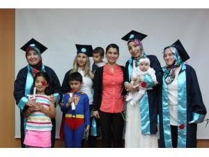 BEÜ'de uzaktan eğitim mezuniyet töreni