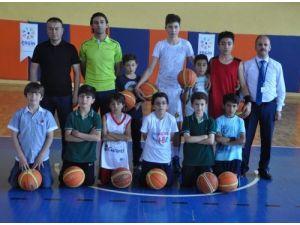 Özel Ergin Koleji 12 Dev Adam Spor Okulu'ndan milli takıma sporcu yetişecek