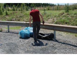 Kocaeli'nde valiz içinde el bombaları ve kaleşnikof şarjörü bulundu
