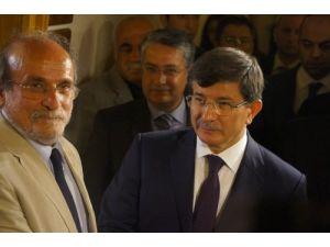 Davutoğlu, HDP Eşbaşkanı Kürkçü'yü Meclis'te ziyaret etti