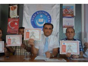 Gaziantep Milli Eğitim'i, Türk Eğitim Sen'den geçer not alamadı
