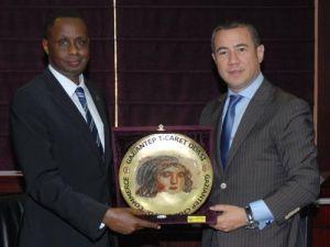 Afrika'nın kalbinden Gaziantep'e iş teklifi