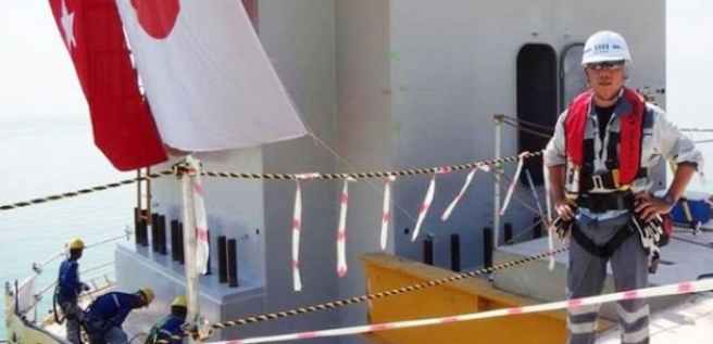 Japon mühendisin cenazesi memleketine gönderildi