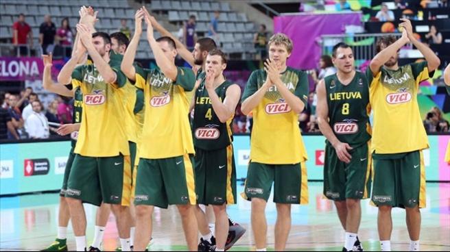 Litvanya çeyrek finalde: 76-71