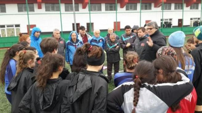 Kadın futbolu çalışma grubu Samsun'da toplandı