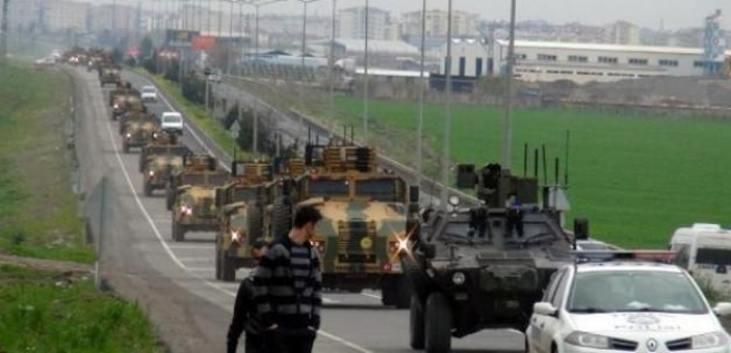 Diyarbakır'dan sınıra 'Kirpi' sevkiyatı