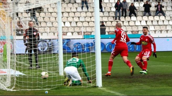 Sivasspor 4-1 Bursaspor