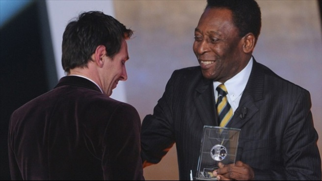 Pele, Messi'yi kendisiyle kıyasladı