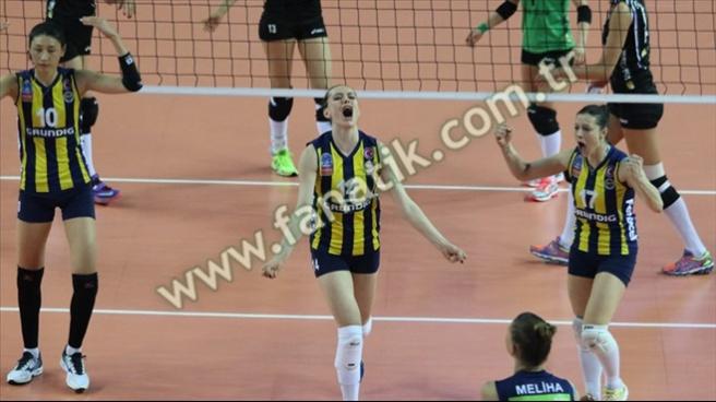 Fenerbahçe Grundig 3 - 2 Vakıfbank