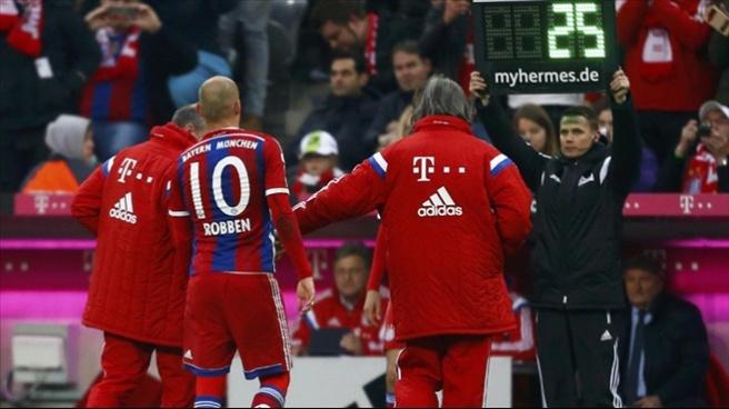 Hollanda'da Robben şoku!