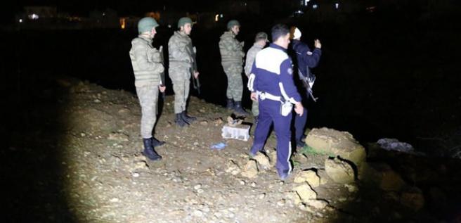 Hudut Bölük Komutanlığı yakınında patlama