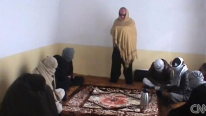 IŞİD'in Militan Toplama Anı Görüntülendi