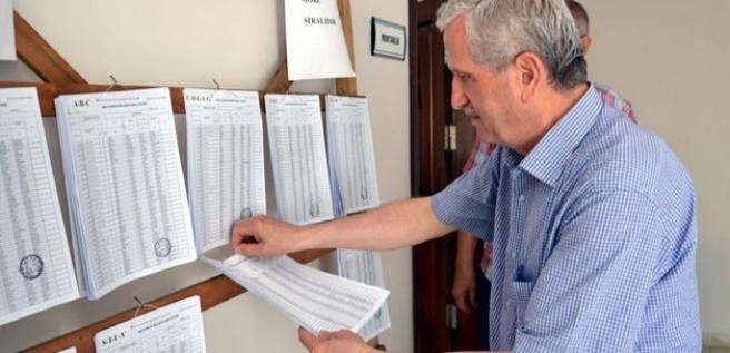 Seçmen listelerinin kontrolü için son 2 gün