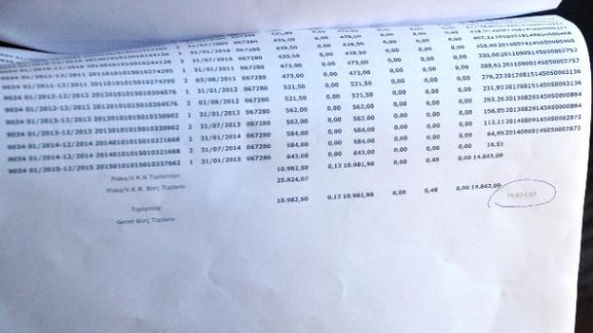 9 Yıl Önce Ölen Kadına 25 Bin TL Vergi Borcu Çıktı
