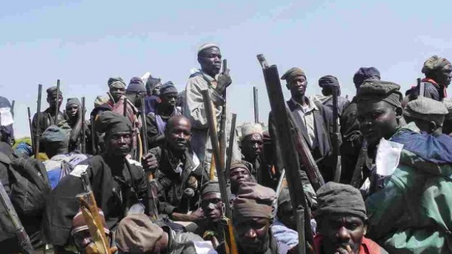 Boko Haram 500 Öğrenciyi Kaçırdı
