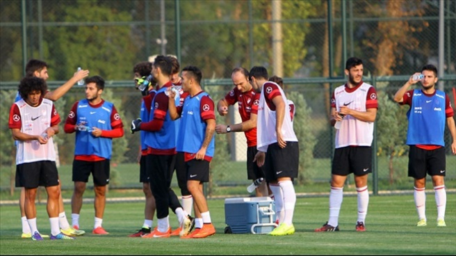 Ümit Milli Futbol Takımı İstanbul'da toplandı