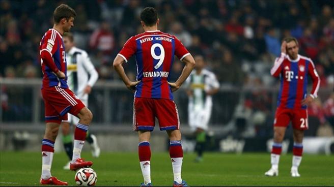 Bayern Münih 0-2 Borussia Monchengladbach (Maç Özeti)