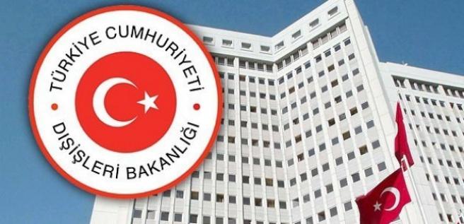 Türkiye Dışişleri Bakanlığı'ndan acil uyarı
