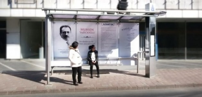 İETT Muhsin Yazıcıoğlu'nu unutmadı