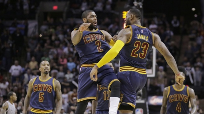 Kyrie Irving'ten 57 sayı