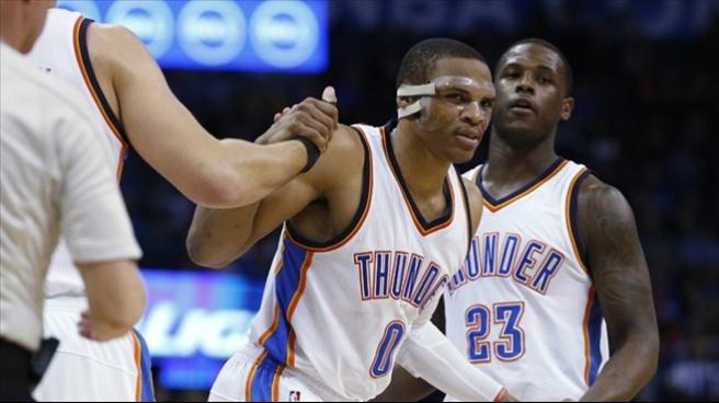 Thunder, Enes ve Westbrook ile güldü