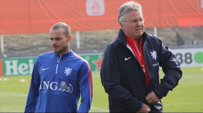 Wesley Sneijder: Türkiye her an her şeyi yapabilir