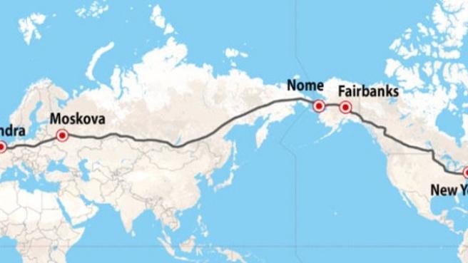 Rusya'dan Çılgın Proje! ABD'yi Asya Üzerinden Avrupa'ya Bağlayacak